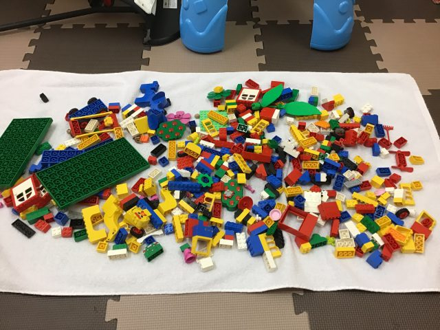 レゴブロックの消毒洗浄